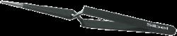 Zwarte wimperpincet