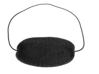 Roller met elastiek zwart