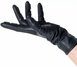 Comb In Silicone Handschoenen