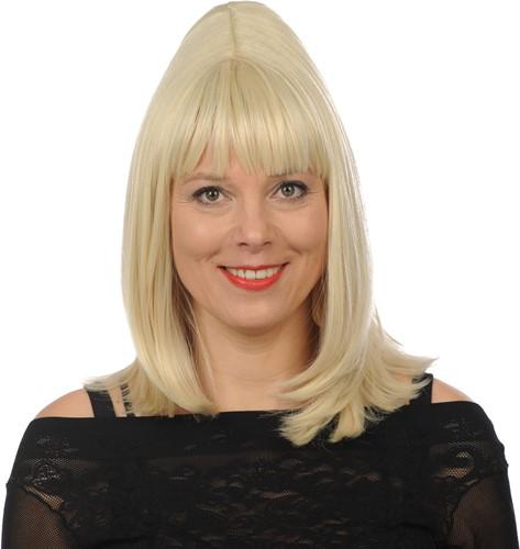 Pruik Cilla Blond