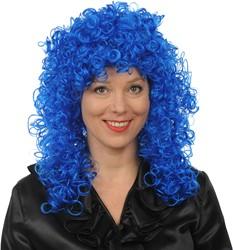 Pruik Roxy Blauw