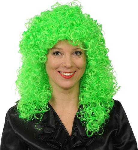 Pruik Roxy Neon Groen