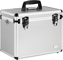 Aluminium Luxe Schminkkoffer