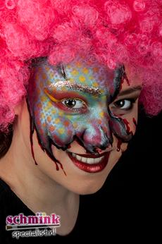 Fotoalbum - halloween schminkvoorbeelden-60