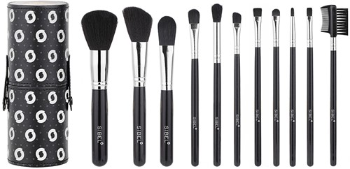 Black swan make-up borstel set