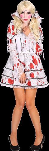 Bloed Halloween Jurkje Maat L