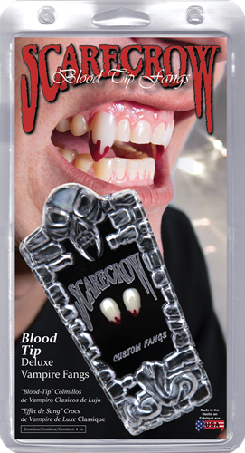 Blood tip Deluxe Vampier tanden
