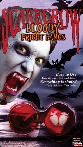 Bloody Fright Fangs - Goedkope Vampier tanden