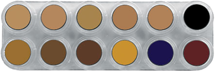 Grimas Camouflage Make-up Pure Palet CB