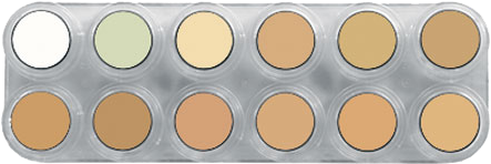 Grimas Camouflage Make-up Pure Palet CH