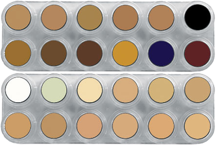Grimas Camouflage Make-up Pure Palet CK(CB+CH)