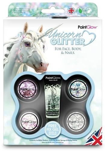 Chunky glitter unicorn voordeelpakket