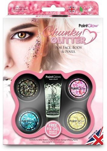 Chunky glitter voordeelpakket