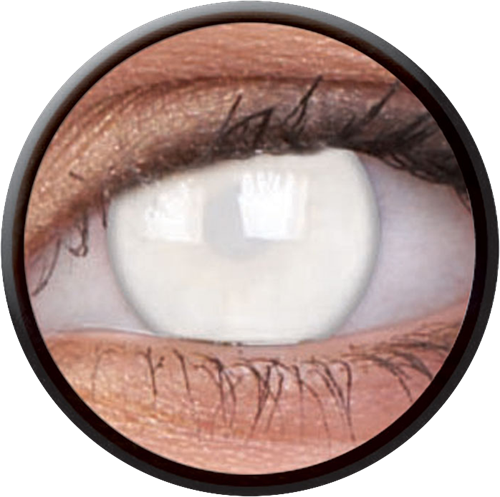 Crazy Blind White Contactlens