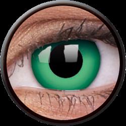 Crazy Emerald Green Contactlens