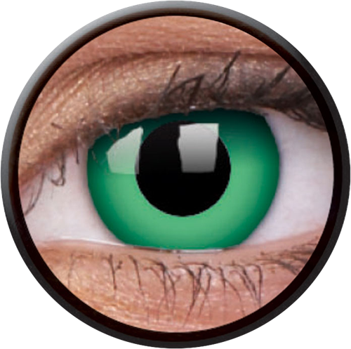 Crazy Emerald Green Contactlens