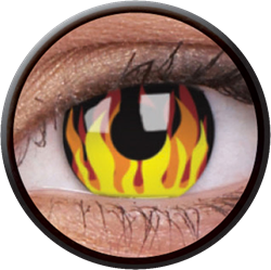 Crazy Flame Hot Contactlens