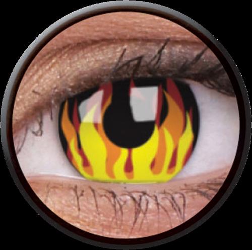 Crazy Flame Hot Contactlens