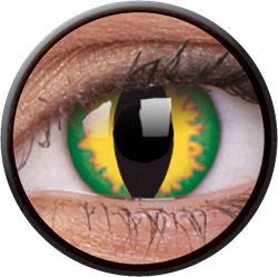 Crazy Green Dragon Contactlens