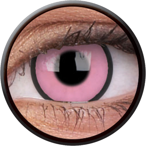 Crazy Hot Pink Contactlens