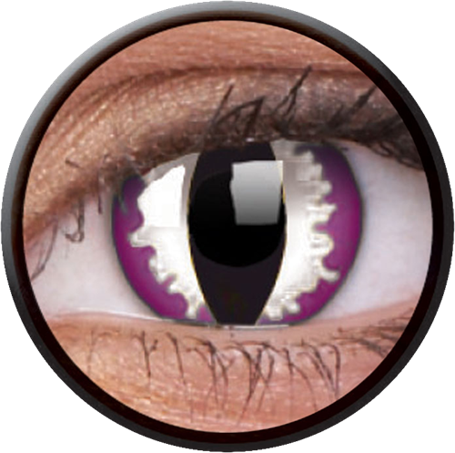 Crazy Purple Dragon Contactlens