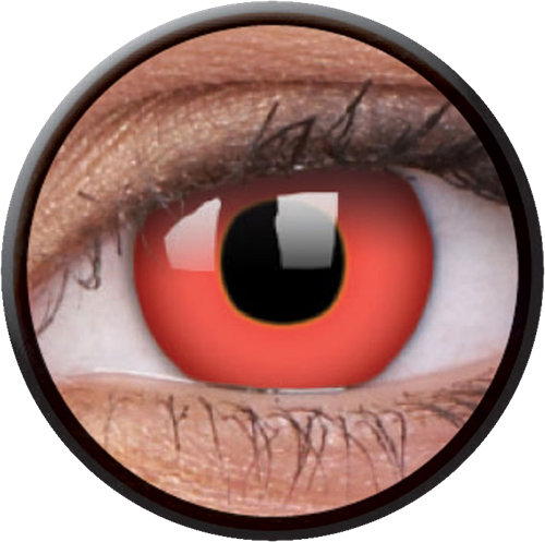 Crazy Red Devil Contactlens