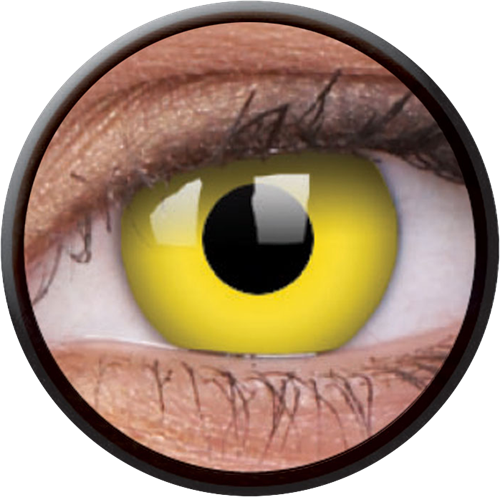 Crazy Yellow Contactlens