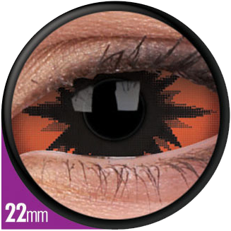 Crazy Sclera Omega Red Contactlens