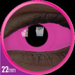 Crazy Sclera UV Raiden Pink Contactlens