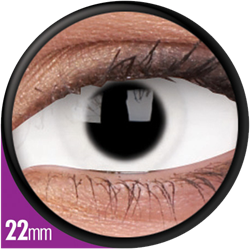 Crazy Sclera Snow Witch Contactlens