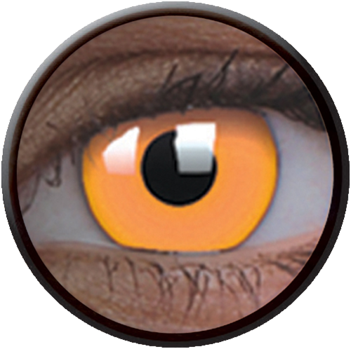 Crazy Glow UV Glow Orange Contactlens