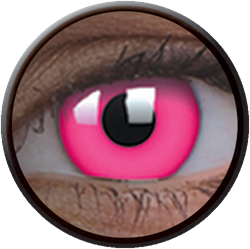 Crazy Glow UV Glow Pink Contactlens