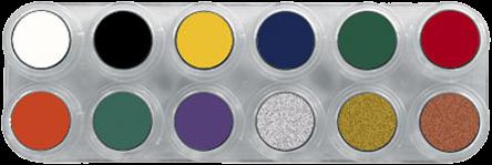 Grimas Crème Make-up Pure Palet F