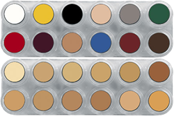 Grimas Crème Make-up Pure Palet K(B+V)