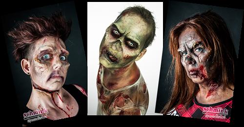 23 September 2018 - 09:45u - Cursus Zombie Extreem Make-up