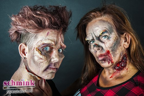 18 Oktober 2020 - 10:00u - Cursus Zombie Extreem Make-up