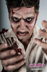 September 09 - 09:45u - Cursus Zombie Make-up