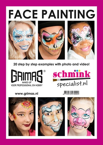 Face painting schminkboek-3