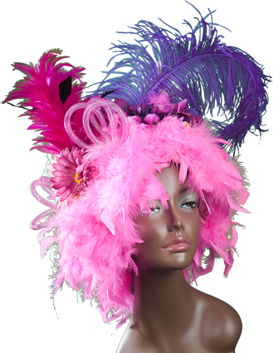Fantasiepruik roze