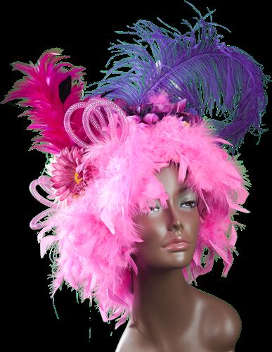 Fantasiepruik roze-2