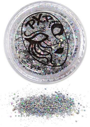 Festival Glitter Fijn Zilver