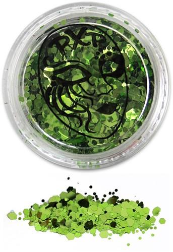 Festival Glitter Groen