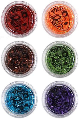 PXP Festival glitter regenboog mix