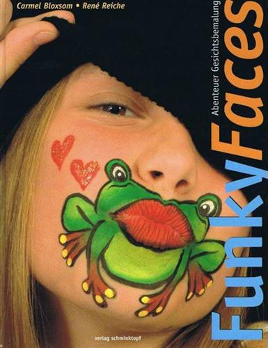 Funky Faces Abenteuer Schminkboek