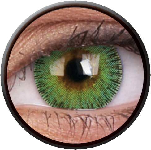 Fusion Yellow Green Contactlens
