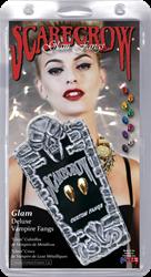Glam Deluxe Vampier tanden Zwart