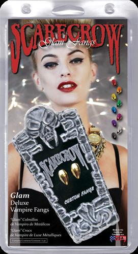 Glam Deluxe Vampier tanden Oranje