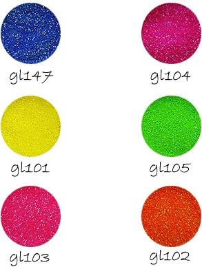 Glittertattoo Glitters Electric set