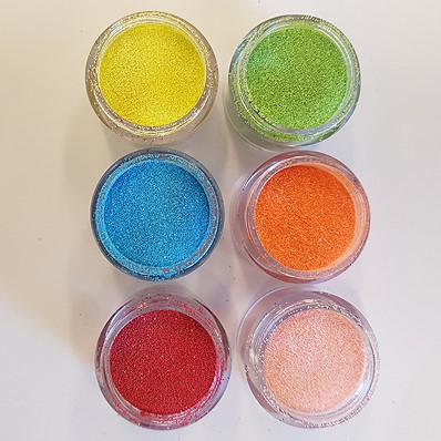 Glittertattoo Glitters Opaque set