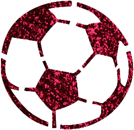 Voetbal Glittertattoo Sjabloon